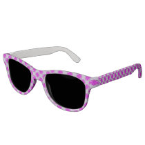 Purple Clover Ribbon Sunglasses