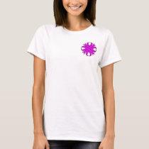 Purple Clover Ribbon T-Shirt