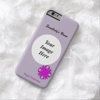 Purple Clover Ribbon Template by Kenneth Yoncich Barely There iPhone 6 Case
