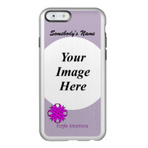 Purple Clover Ribbon Template Incipio Feather Shine iPhone 6 Case