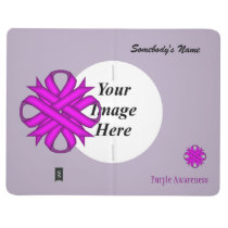 Purple Clover Ribbon Template Journal