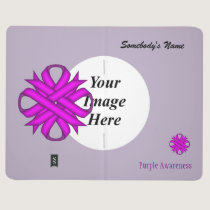 Purple Clover Ribbon Template Journal