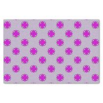 Purple Clover Ribbon Tissue Paper