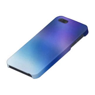 Purple Cobalt Blue Violet Ombré Abstract Art iPhone SE/5/5s Case