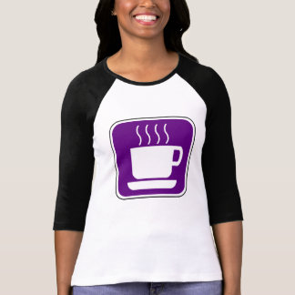 Purple Coffee Vintage Sign T-Shirt