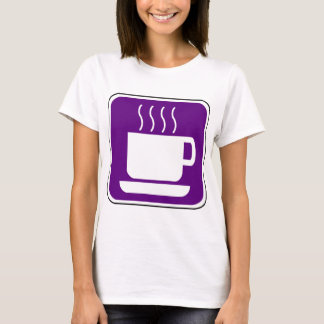 Purple Coffee Vintage Sign T-Shirt