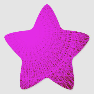 purple color shadow lover star sticker