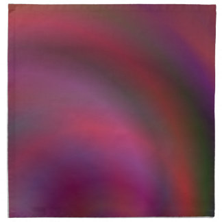 Purple colorful abstract cloth napkin