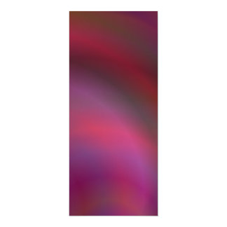 Purple colorful abstract 4x9.25 paper invitation card