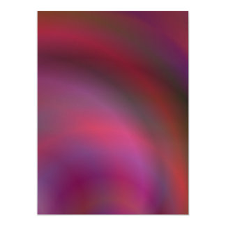 Purple colorful abstract 6.5x8.75 paper invitation card
