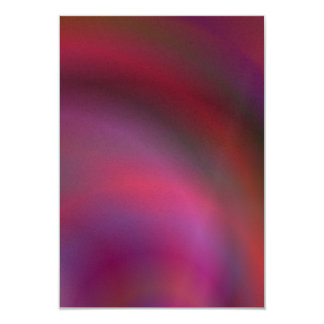 Purple colorful abstract 3.5x5 paper invitation card