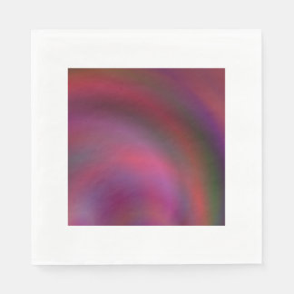 Purple colorful abstract napkin