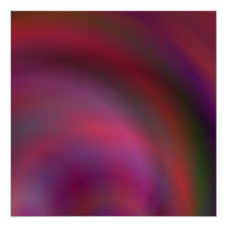 Purple colorful abstract poster