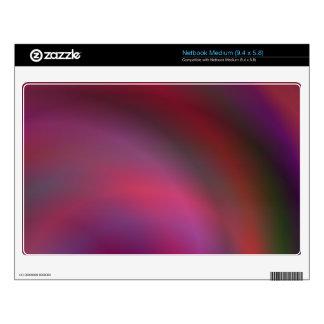 Purple colorful abstract medium netbook skin