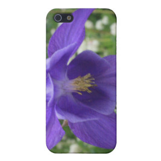Purple Columbine 4/4s Case For iPhone SE/5/5s