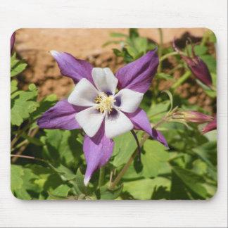 Purple Columbine Mouse Pad