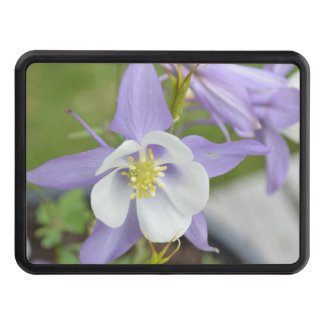 Purple Columbine Tow Hitch Cover