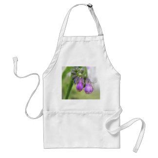 Purple Comfrey Flowers Aprons