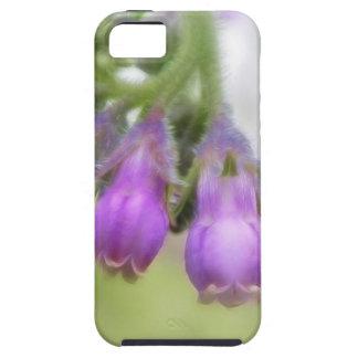 Purple Comfrey Flowers iPhone SE/5/5s Case