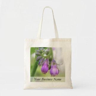 Purple Comfrey Flowers Tote Bag