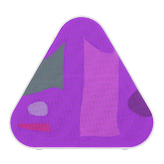 Purple Composition Bluetooth Speaker