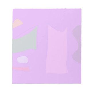 Purple Composition Notepad