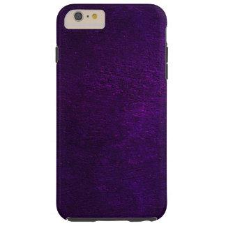 Purple Concrete Creation Tough iPhone 6 Plus Case