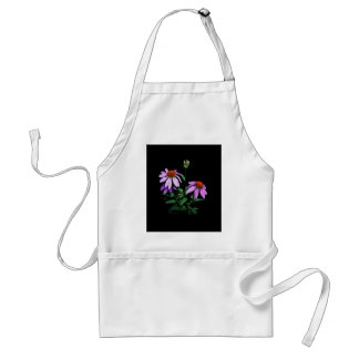 Purple Coneflower Adult Apron