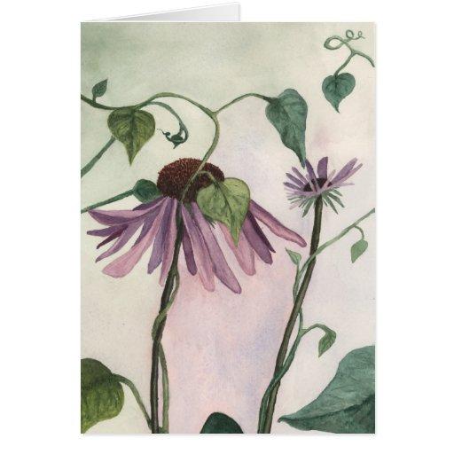 Purple Coneflower Notecard