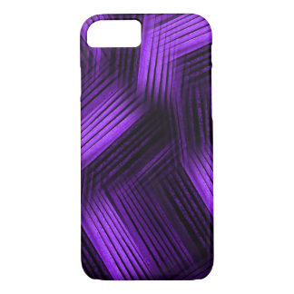 Purple Contemporary Abstract iPhone 7 Case