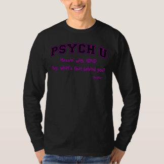 Purple contour PSYCH U ADHD T Shirt