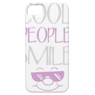 Purple Cool People Smile Statement iPhone 5s Case