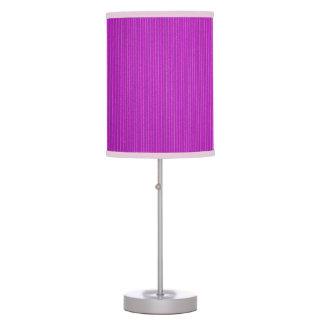 Purple Corrugated Cardboard Table Lamp