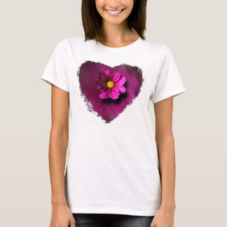 Purple Cosmo with Blurred Background T-Shirt