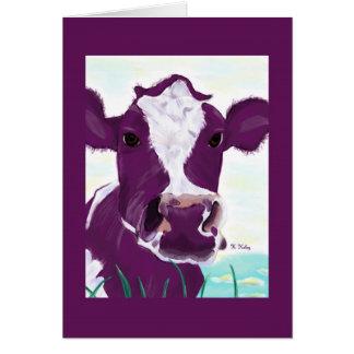 Purple Cow card 2