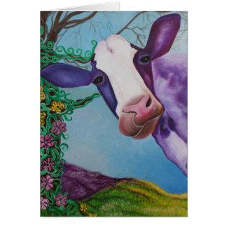 Purple Cow Cards
