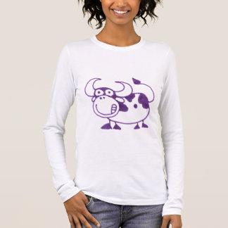Purple Cow | Cartoon Cow Shirt