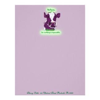 Purple Cow letterhead