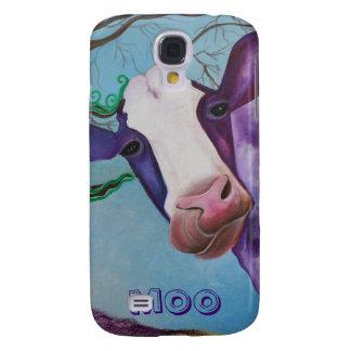 Purple Cow Samsung S4 Case