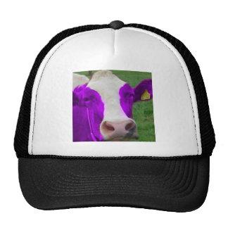 purple cow trucker hat