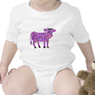Purple Cow Rompers