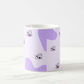 Purple cows magic mug