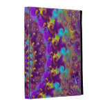 Purple Crazy Fractal iPad Case