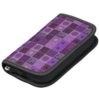 Purple Crazy Quilt Planner