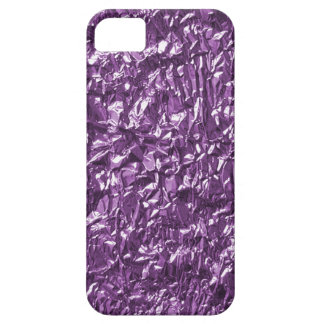 purple crinkled paper iphone 5 case