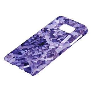 Purple Crinkled Shredded Paper Photograph Samsung Galaxy S7 Case
