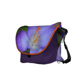 Purple Crocus For FMS Awareness Messenger Bags