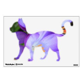Purple Crocus For FMS Awareness Wall Sticker