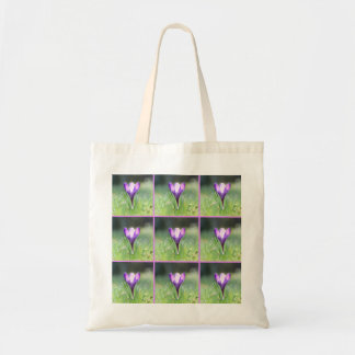 Purple Crocus in spring 03.3.3.2 Tote Bag
