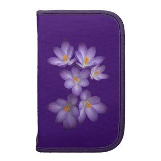 Purple Crocus Folio Planners